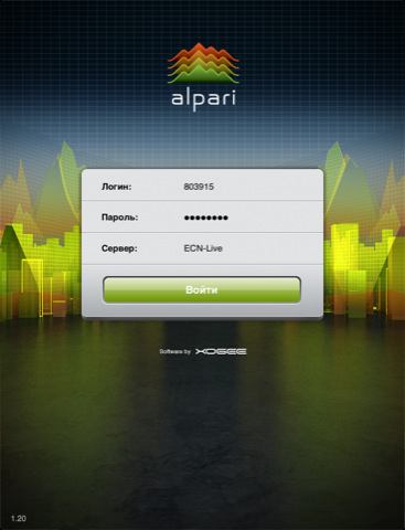 iTrader for iPad 2